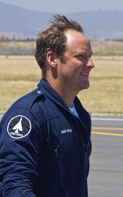 Dave Stock at AFB Ysterplaat in 2005