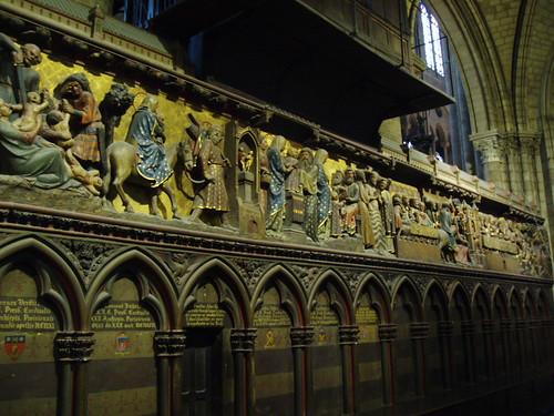 Choir enclosure at Notre Dame de Paris. © Aidan McRae Thomson.