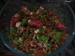 Wheat Berry Salad (also dim)