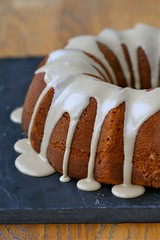 Kabocha-Maple Sour Cream Coffee Cake DRIPPING