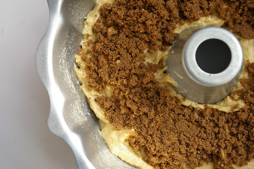 Streusel layer
