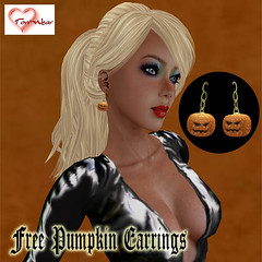 _Tori Wear_ Free Pumpkin Earrings