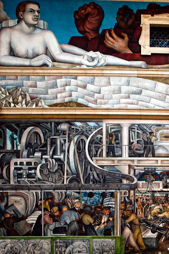 Diego rivera art archives for Detroit industry mural