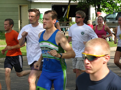 Mike Schaefer at Pow Wow Days 10k