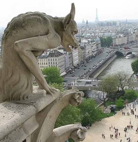 Gárgolas de París | Foto: Taringa