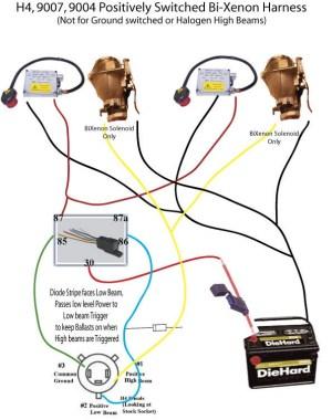 E46 BiXenon Wiring question with H4 Harness  HiDpla