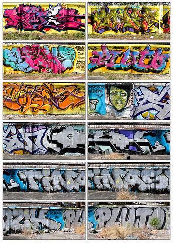 Graffiti Outside Rachadapisek Subway Station