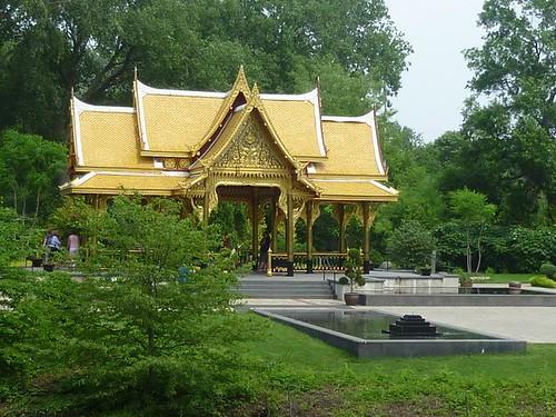 WI, Madison - Botanical Gardens 26 - Thai Temple