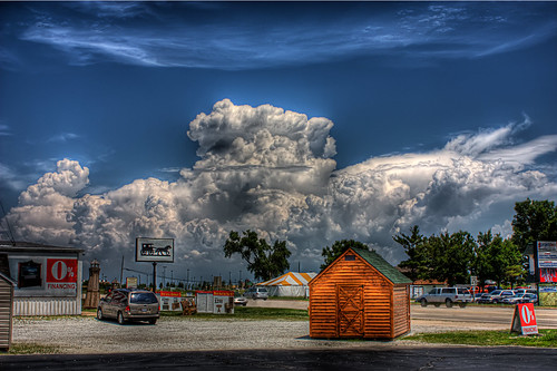 Clouds over IL by richardcox8592