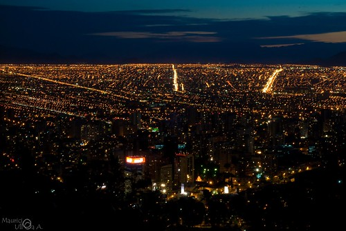 Santiago in the Dark.