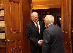 Συνάντηση με τον Πρόεδρο της Δημοκρατίας, Κάρο...