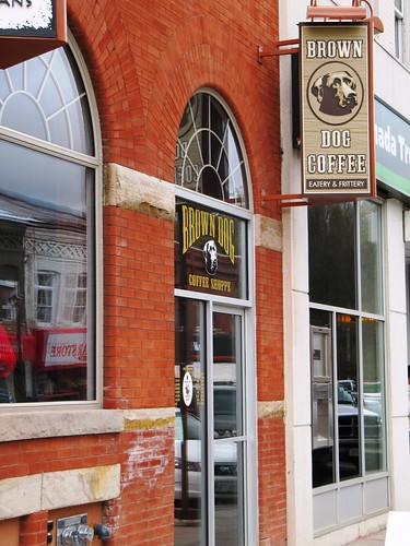Brown Dog Coffee and Frittery, Paris, Ont.