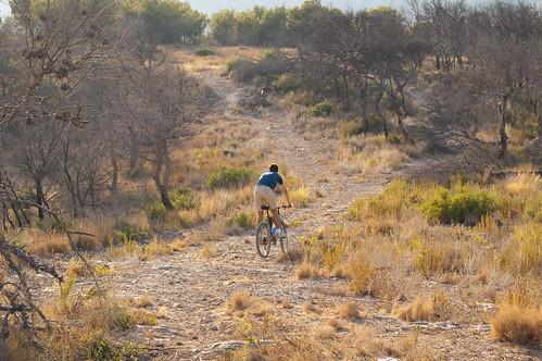 Haciendo el indio con la bici (IV)