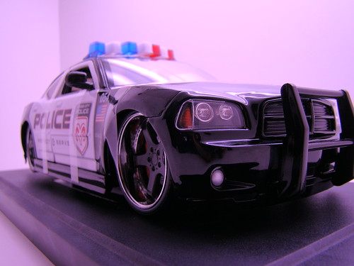 Jada Toys Dodge Charger Police