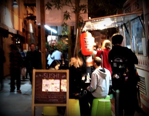 Fishlips Sushi - DTLA Artwalk by you.