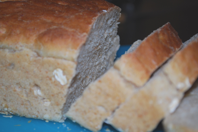 Bread with nuts & honey