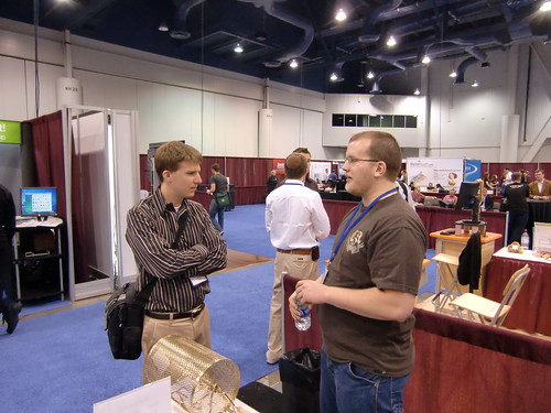James Zolman working the Affiliate Summit booth