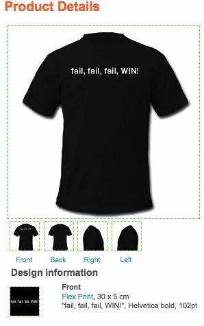 fail, fail, fail, WIN!