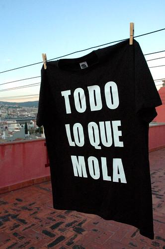 Camiseta #TLQM