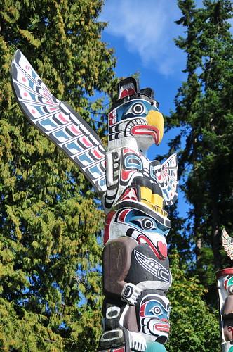 Totem Poles in Vancouver