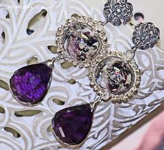 HER MAJESTY Earrings by jewelsbyldesigns