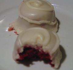 Red Velvet Baby Bites