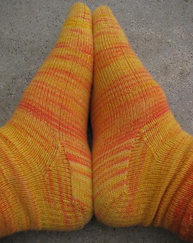 Sides of socks