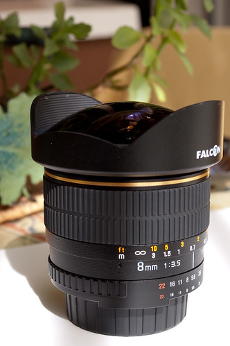 Review Falcon 8mm fisheye f/3.5