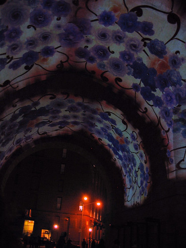 Tunnel of Flowers in Dumbo.