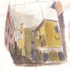 villefranche, quick sketch