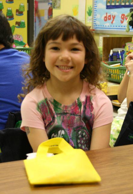 Josie 1st grade
