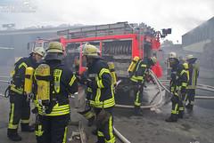 Brand in Altpapierlager Biebrich 09.09.09