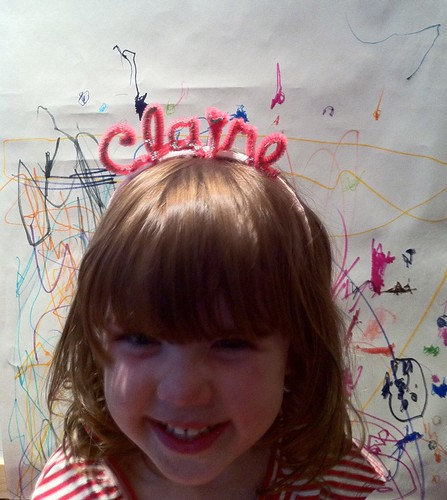 Claire headband, worn by Claire