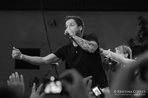 Pierre Bouvier of Simple Plan
