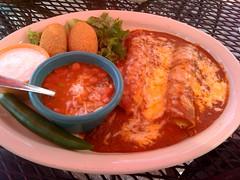 More Enchiladas @ Serranos