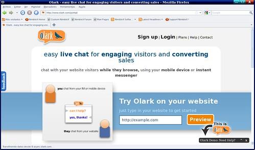 un chat para tu site o blog