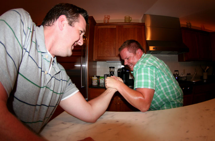 arm wrestle