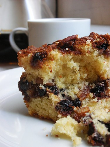 cinnamon-pecan coffee cake