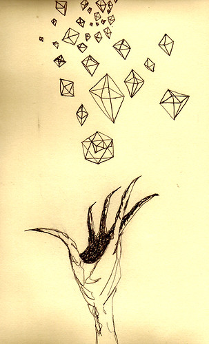 octahedron hands