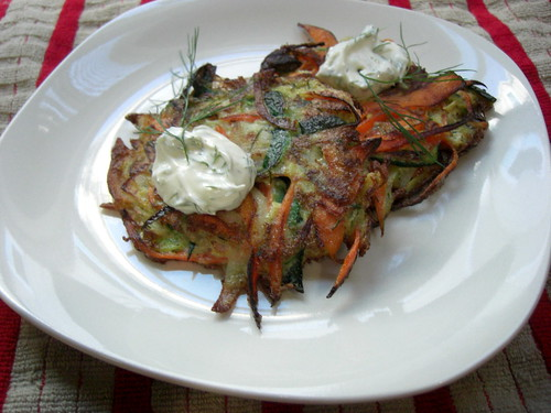 Vegetable pancakes