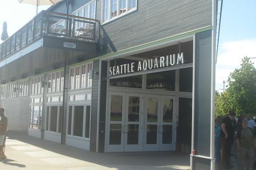 Seattle Aquirum gate