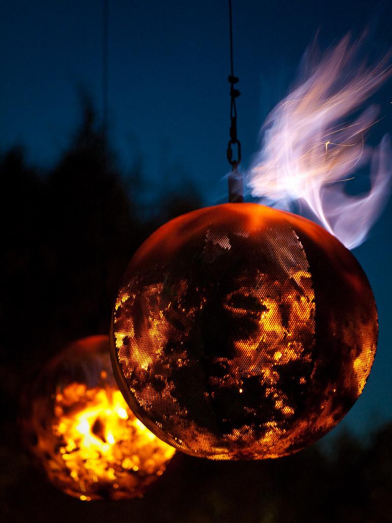 Fire Garden Balls - Steve Harris (2009)