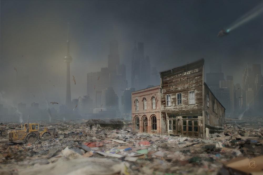 Ghost Town Un passato che scompare un presente che dimentica e un futuro che cancella