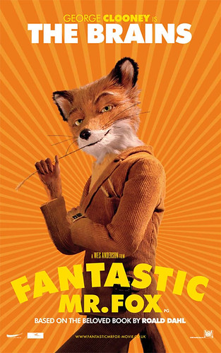 Fantastic Mr. Fox (2009) character poster-The Brains