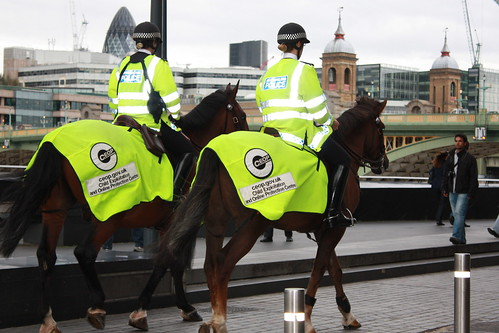 Policewomen on duty!