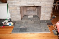 Help, hearth extension being built now.... | Hearth.com ...