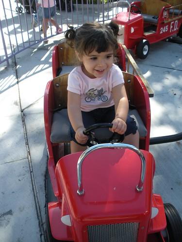 Driving the firetruck