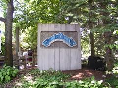 Cedar Point - Thunder Canyon Sign