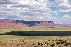 Vermilion Cliffs from Kaibab Plateau overlook ...