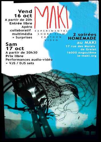 Flyer Homemade MAKI 2009